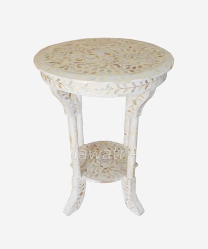 Mother Of Pearl Side Table