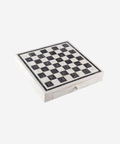 Bone inlay chess board
