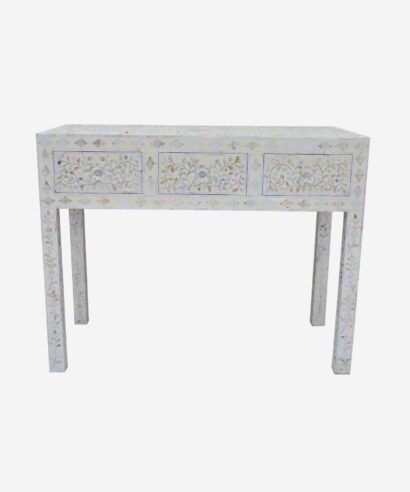 Mother Of Pearl Console Table