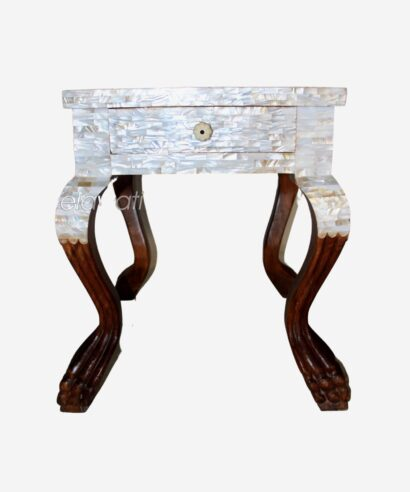 Mother Of Pearl Bedside and side Table
