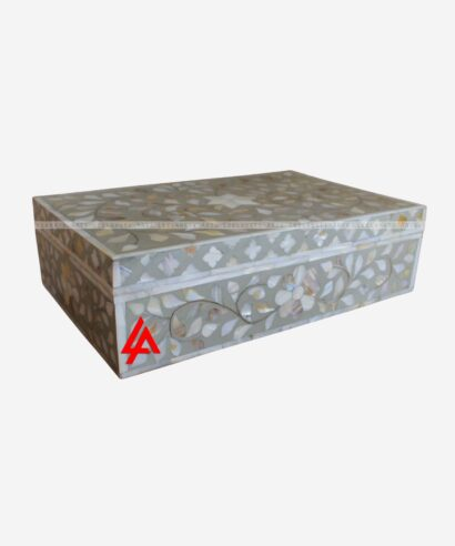 Mother of Pearl Gray Box
